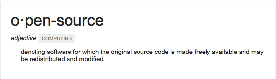 Google-Open-Source-Definition