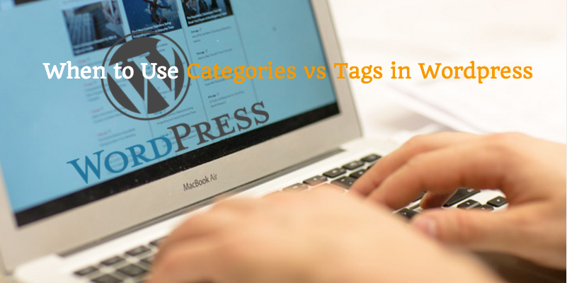 WordPress category vs tag image