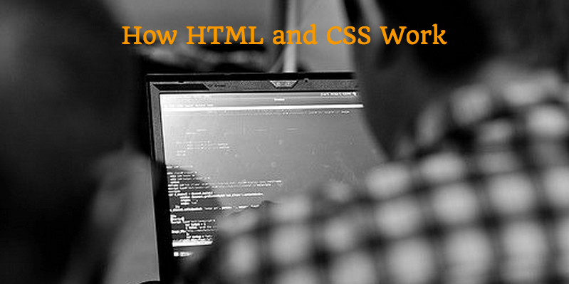 How HTML and CSS work image